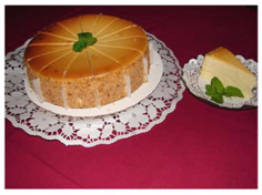 Cheese Cake | Villa Europa